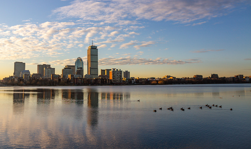 Boston Morning Skyline