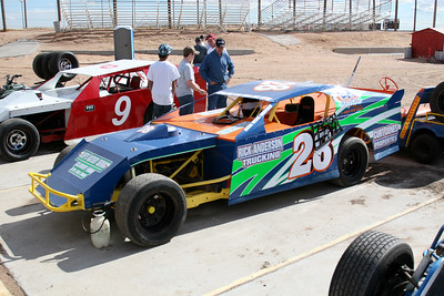 Southern NM Speedway - January, 2009