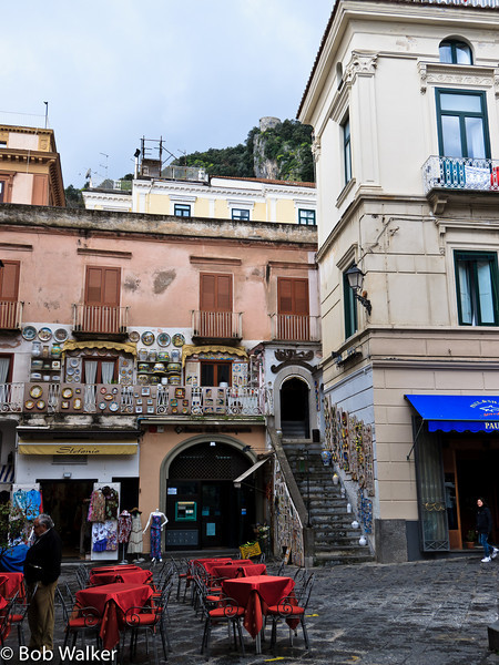 Main square in Amalfi