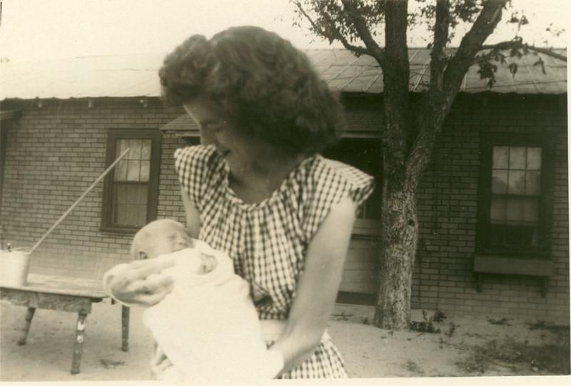 Juanita Bateman Stone with Reedie Stone III