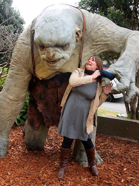 Troll at Weta Cave in Wellington