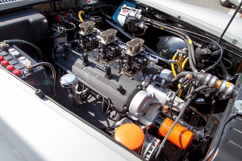 The heart of the 1960 Ferrari 250 PF Coupe