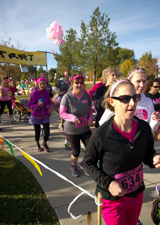 The Link - Partners in Pink, 2013 fundraising race