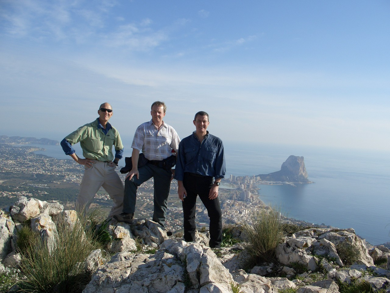 With Gary and Bill on Oltá Summit