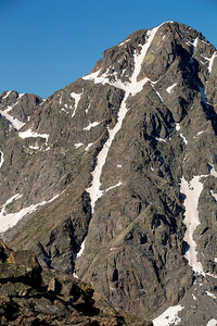 "Mount of the Holy Cross's famed ""Cross Couloir"""