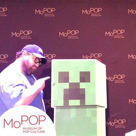 PHOTOS - Minecon Earth Party - MoPOP Museum