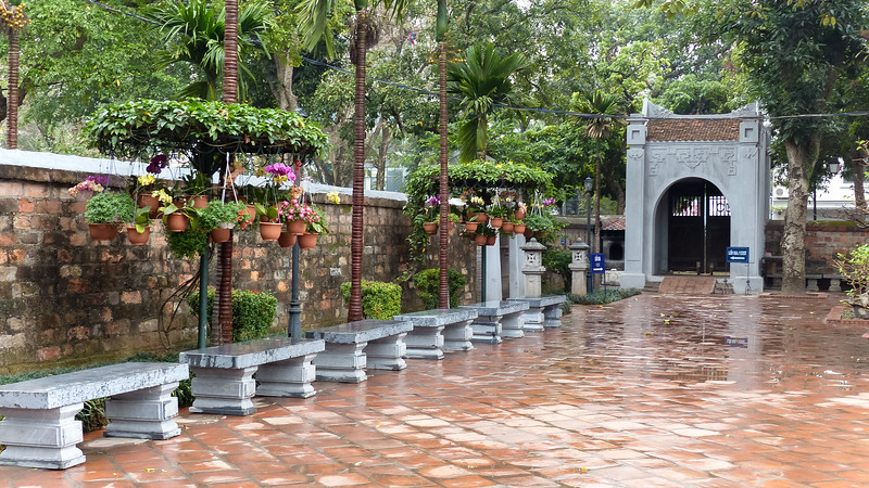Hanoi de tempel van de Literatuur