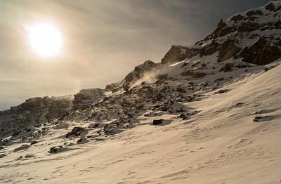 Unterwegs mit Skiern und Kamera