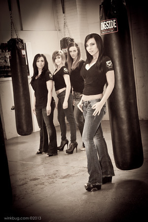 MMA total Mayhem: Rising Stars Ring Girls
