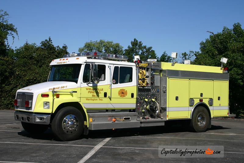 Wellsville Engine 66-1: 1997 Freightliner/New Lexington 1500/1000