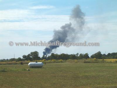 9/4/05 - Mason pole barn fire, 1610 S. Edgar Rd