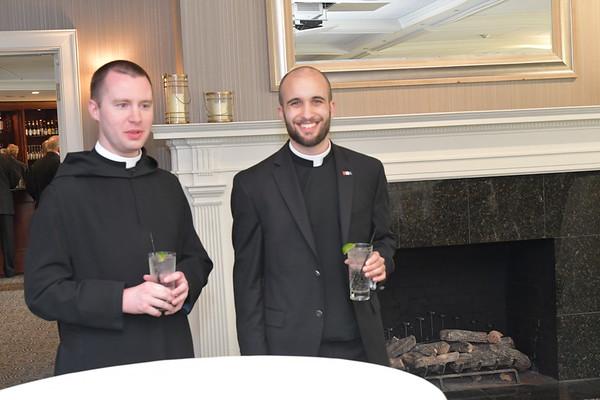 Reception for Fr. David