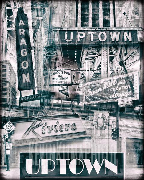 Uptown, Chicago - Collage