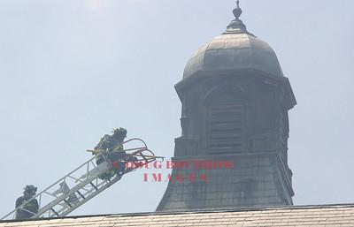 Foxborough, MA - 3rd Alarm, Former State Hospital, 7-14-06