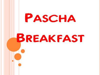 Pascha Breakfast