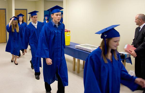 Traverse City College Preparatory Academy graduation June 9, 2010