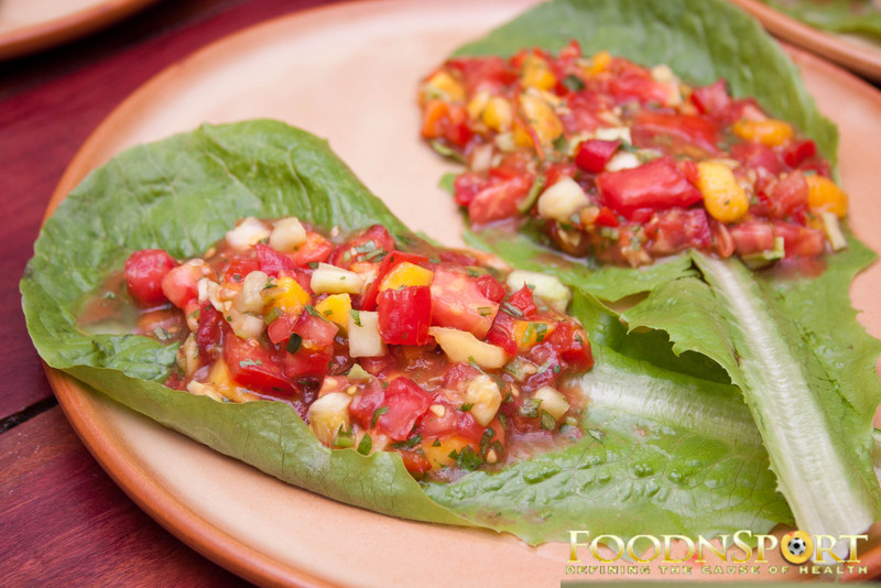 Salsa Lettuce Wraps