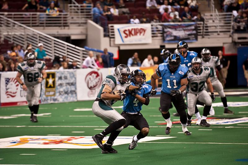 Sports-Football-Arkansas Twisters vs Bozier City 032809-39