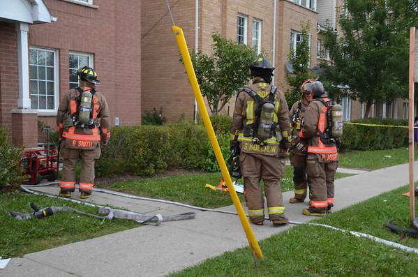 September 5, 2012 - 1st Alarm - 2758 Eglinton Ave. E.