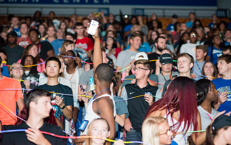 Campus welcome and convocation