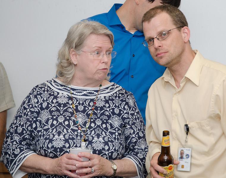 Susan Teates and Stephen Rinehart -- Bruce Woodgate retirement party, NASA/GSFC, June 2013