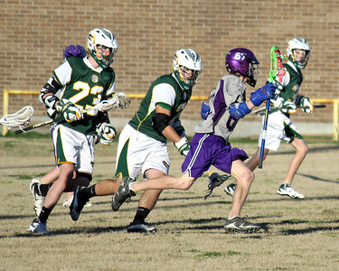 2011 LOUISIANA HIGH SCHOOL LACROSSE LEAGUE:  Captain Shreve JV vs. Dutchtown JV @ St. Thomas More.