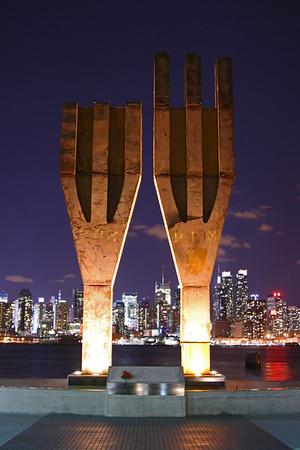 9-11 Memorial In Wehawkeen NJ 1-28-12