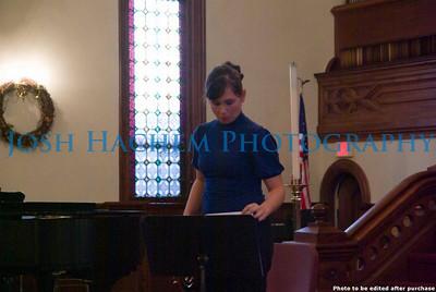 November 23, 2008 Emma's Recital