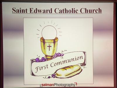 Sebas and Mariana First Communion