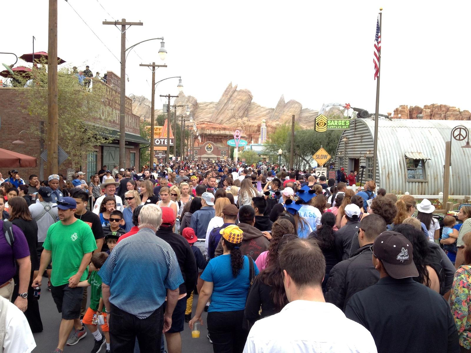 Disneyland Summer Crowds