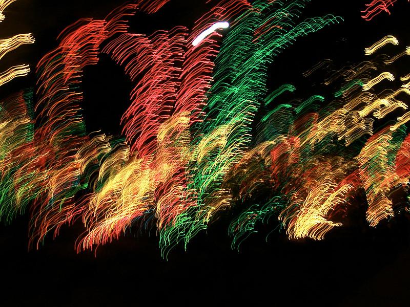 Artistic shots exploring motion blur.