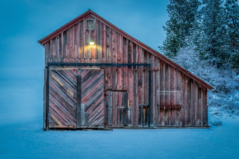 Rocky Hill Barn, Liberty Lake, Washington