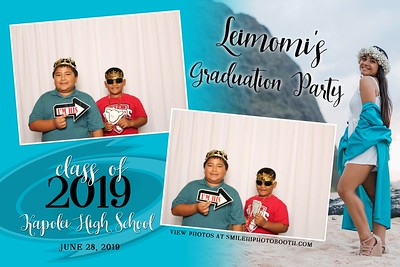Leimomi's Grad Party