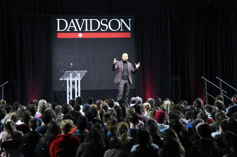 Bryan Stevenson - the 2020 Reynolds Lecturer at Davidson College.