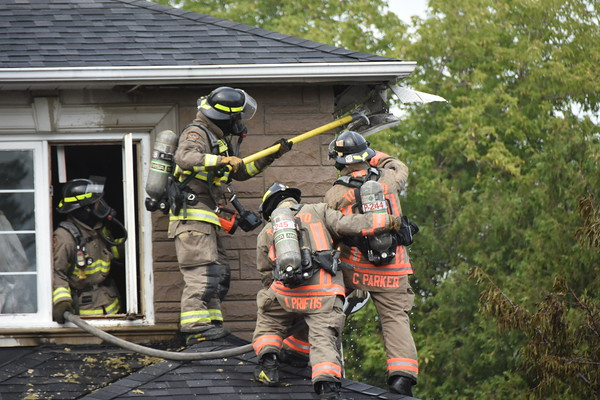 August 26, 2020 - 2nd Alarm - 43 Grove Hill Dr.
