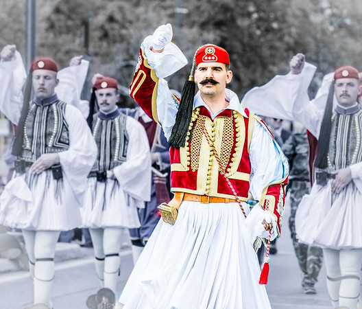 2019 Greek Presidential Guard in Adelaide Australia