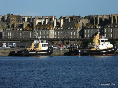 St Malo Port Views 11 August 2014