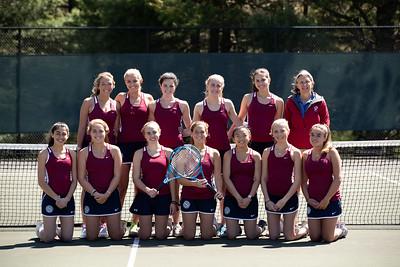 4/24/19: Girls' JV Tennis