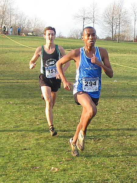 2005 Canadian XC Championships - 1,500 to go and Bairu tries to get away
