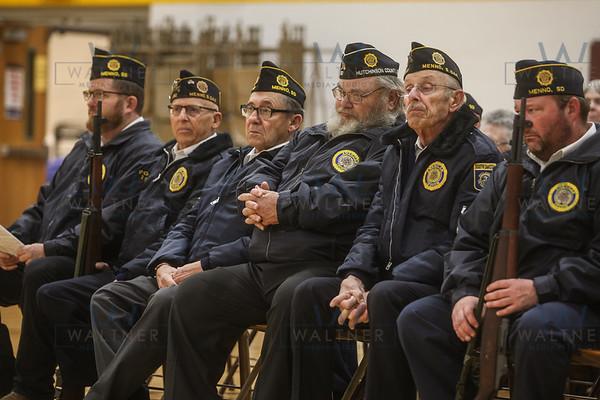 Menno Veterans Day Program