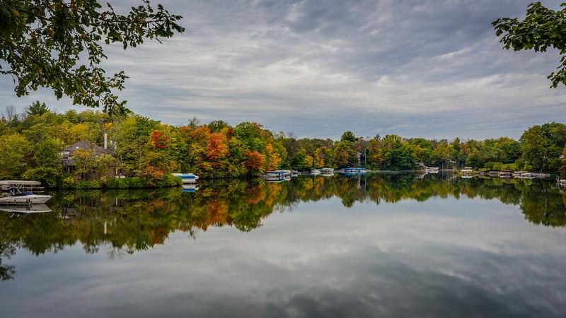 Oct 9th, 2014.  Geist Reservoir.