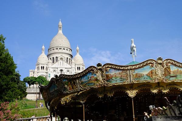 Sacre Coeur - La Basilique du Sacré Cœur de Montmartre