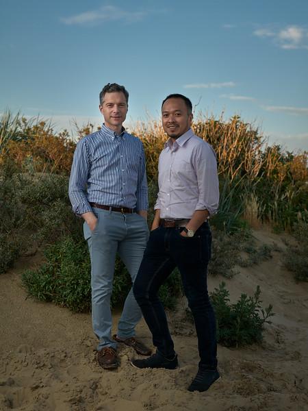 Richard and Kuswadi