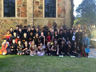 6th-12th orchestra at Lanier Chapel