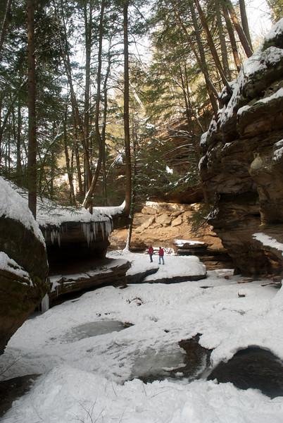 hocking hills winter 2010