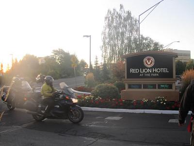 IRON BUTT RAlly 2009 Finish - Spokane, WA
