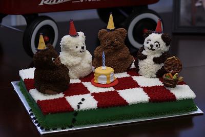 Mary and William's Teddy Bear Picnic Birthday