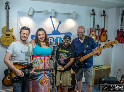 Gracie Curran Band at BRI Studio 6 17 18