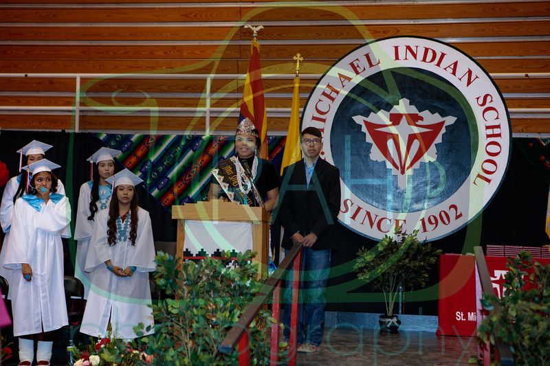 St. Michael Indian High School Graduation May 20th, 2017