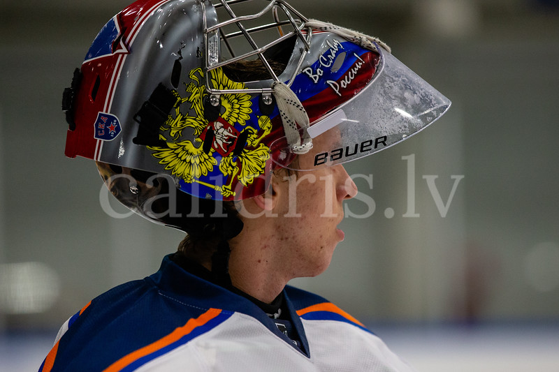 KH Kurbads pārbaudes spēle pret SKA Neva, Kurbada ledus halle, 09.08.2018